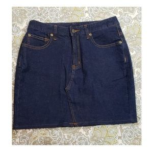 Jeanology Collection Jean Skirt Size 4